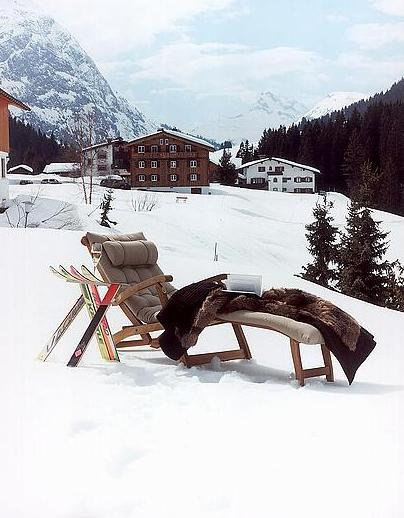 Kristiania Lech, Austria - Sit back & relax & enjoy the stunning views