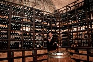 Port Palace's impressive wine cellar