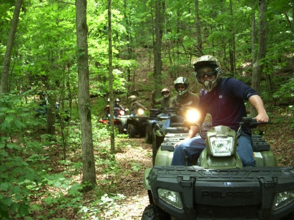 Venture into the forest and hit the trails by ATV or on foot.