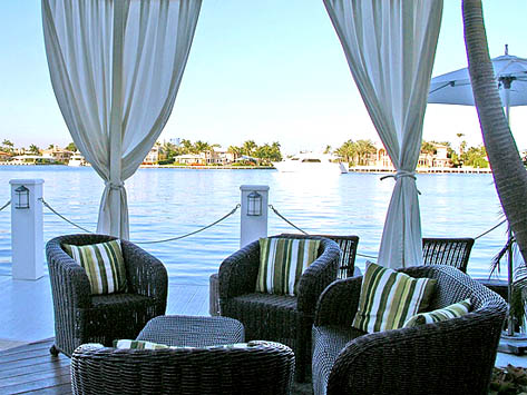 A peaceful hideaway - The Pillars at New River Sound, Fort Lauderdale, Florida, USA