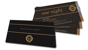 One Night Certificates and Wallet