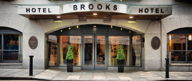 Brooks Hotel Front