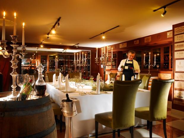 Hayfield Manor Wine Cellar
