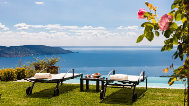 Italy; Lago di Garda; Lefay Resort and Spa; Via Feltrinelli 118; 25084 Gargnano. www.lefayresorts.com; Royal Spa Suite, private Terrace and Pool